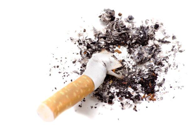 zerdrückte Zigarette - Anti-Tabak Duftmischung (ätherisches Öl)