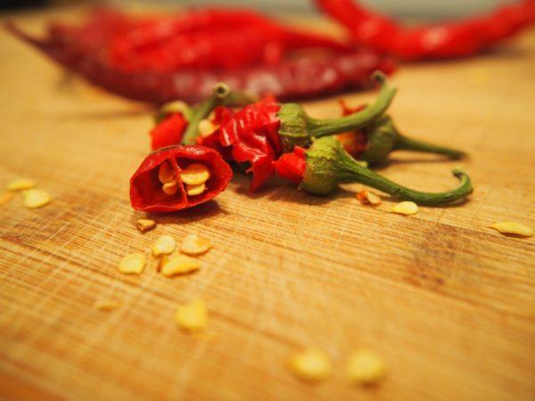 Chilisamen zur Gewinnung von Chilisamen (ätherisches Öl)