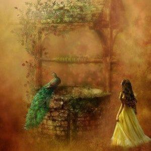 Malerei zu Garten Eden Duftmischung (ätherisches Öl)