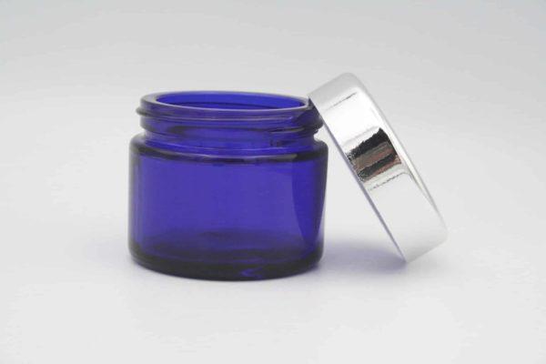 Glasdose blau 50 ml