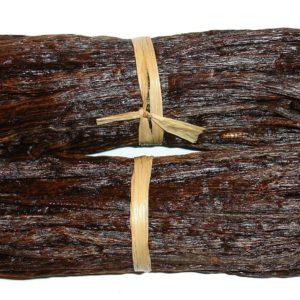 Vanilleschoten getrocknet zur Gewinnung von Vanille Bourbon Oleoresin bio 100%