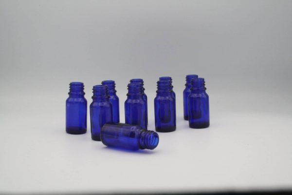Blauglasflasche 10ml 10 Stück Sparpack