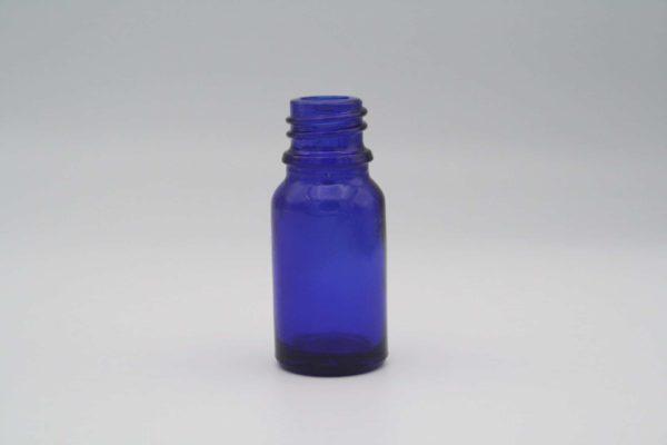 Blauglasflasche 10ml stehend 1 Stück