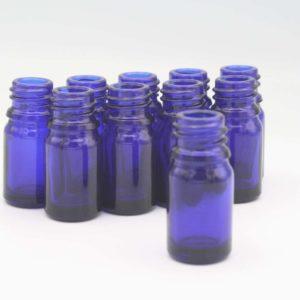 Blauglasflasche 5ml (DN18)
