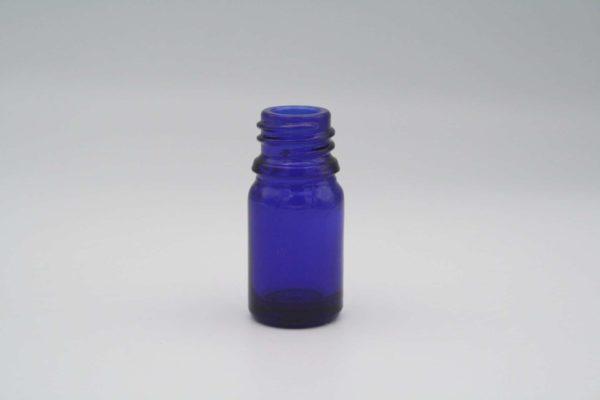 Blauglasflasche 5ml stehend 1 Stück