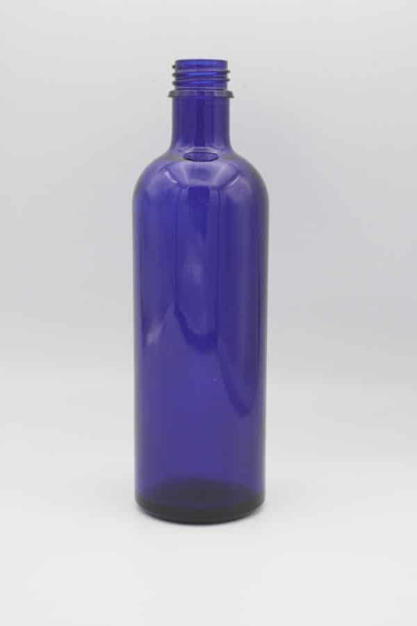 Blauglasflasche 200ml stehend