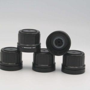 Originalitätsverschluss für Flaschen 200ml schwarz 5 Stück