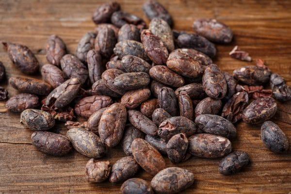 Kakaobohnen zur Herstellung von Kakao absolue bio 50% (Alkoholverdünnung)